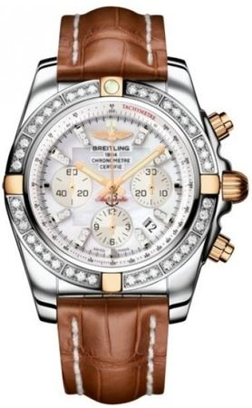 Breitling Chronomat 44  Men's Watch IB011053/A698-CROCD