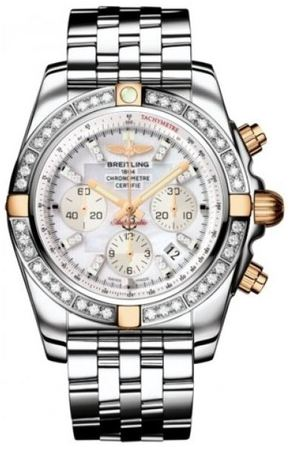 Breitling Chronomat 44  Men's Watch IB011053/A698-SS
