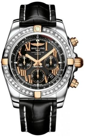 Breitling Chronomat 44  Men's Watch IB011053/B957-CROCD