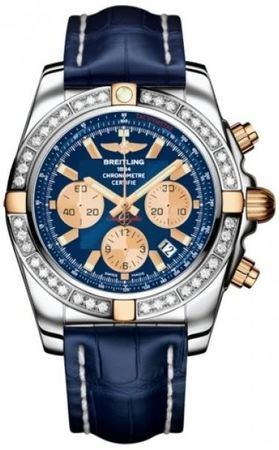 Breitling Chronomat 44  Men's Watch IB011053/C790-CROCD