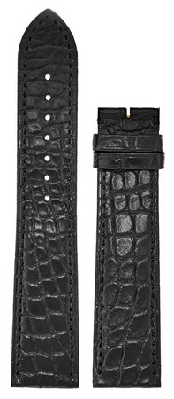 Cartier Tank  Black Crocodile Leather  Strap KD98BT19