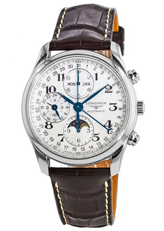 longines l2 773 4 78 3 master collection moonphase men s watch longines master collection moonphase 40mm chronograph men s watch l2 673 4 78 3