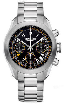 Longines Grande Vitesse  Andre Agassi Automatic Chronograph Men's Watch L3.635.4.46.6