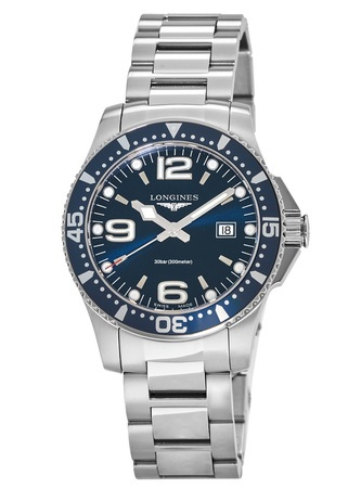 Longines HydroConquest Quartz  Men's Watch L3.640.4.96.6
