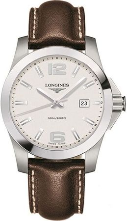Longines Conquest Quartz  Men's Watch L3.659.4.76.5