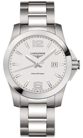 Longines Conquest Quartz  Men's Watch L3.659.4.76.6