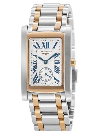Longines DolceVita  18kt Rose Gold & Steel Men's Watch L5.655.5.71.7