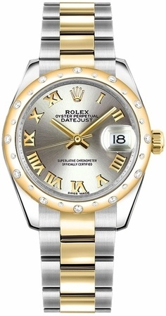 Rolex Datejust 31  Steel Diamond Dial Women's Watch M178343-0036