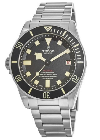 Tudor Pelagos  Left Hand Diver Automatic Black Dial Titanium Men's Watch M25610TNL-0001