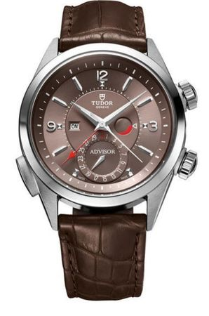 Tudor Heritage Advisor Cognac Men's Watch M79620TC-0001