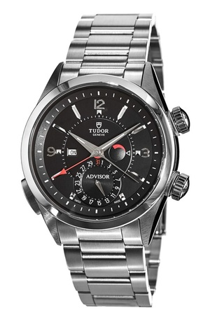 Tudor Heritage Advisor Black Dial Stainless Steel Men's Watch M79620TN-0001