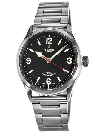 Tudor Heritage Ranger Automatic Black Dial Stainless Steel Men's Watch M79910-0004