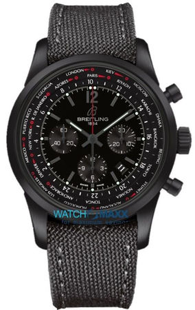Breitling Transocean Chronograph Unitime Pilot Limited Editon only 1000 Pieces Worlwide Men's Watch MB0510U6/BC80-100W