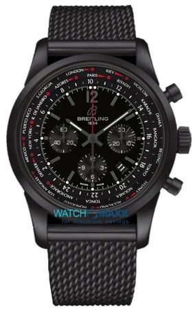 Breitling Transocean Chronograph Unitime Pilot Limited Editon only 1000 Pieces Worlwide Men's Watch MB0510U6/BC80-159M