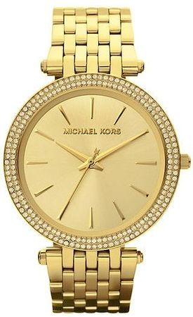 Michael Kors Ladies  Parker Glitz Gold Women's Watch MK3191