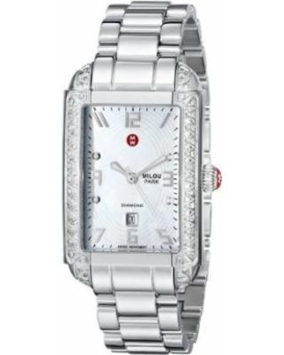 Michele Milou Park  Diamond 3 Link Women's Watch MWW15C000016