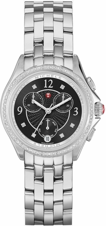 Michele Belmore Chrono Diamond Women's Watch MWW29B000004