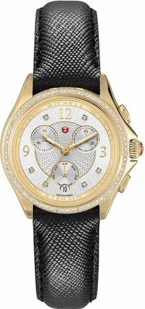 Michele Belmore Chrono Diamond Women's Watch MWW29B000011