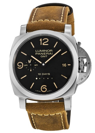 Panerai Luminor 1950 10 Days GMT Automatic 44mm Men's Watch PAM00533