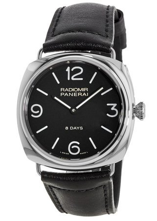 fff82d880cc9 Panerai Radiomir Black Seal 8 Days 45mm Stainless Steel Men s Watch PAM00610