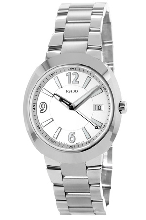 Rado D-Star  Silver Dial Steel Men's Watch R15945103