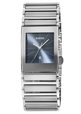 Rado Integral  Blue Dial Stainless Steel Men's Watch R20745202