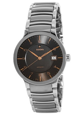Rado Centrix L Automatic Grey Dial Steel Men's Watch R30939132