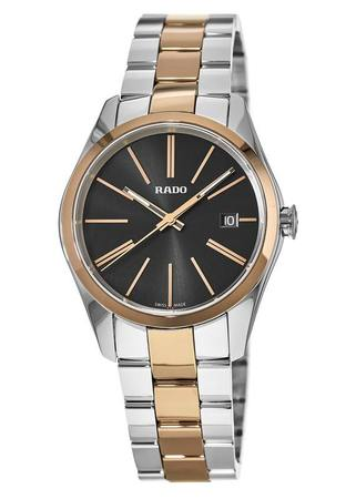 Rado Hyperchrome  Black Dial Steel & Gold Tone Men's Watch R32184152