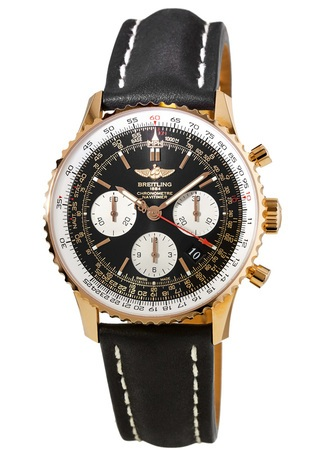 Breitling Navitimer 01 (43mm) Rose Gold Men's Watch RB012012/BA49-436X
