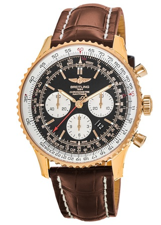 Breitling Navitimer 01 (43mm) Rose Gold Men's Watch RB012012/BA49-737P