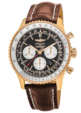 Breitling Navitimer 01 (43mm) Rose Gold Men's Watch RB012012/BA49-740P