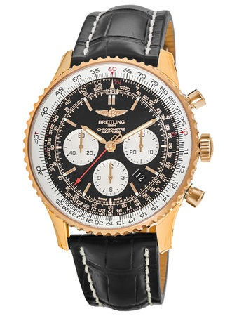 Breitling Navitimer 01 (43mm) Rose Gold Men's Watch RB012012/BA49-744P