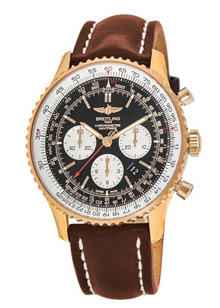 Breitling Navitimer 01 (43mm) Rose Gold Men's Watch RB012012/BA49-LS