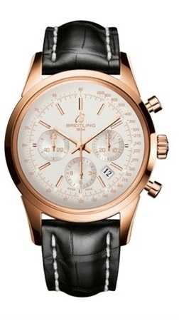 Breitling Transocean Chronograph  Men's Watch RB015212/G738-CROCD