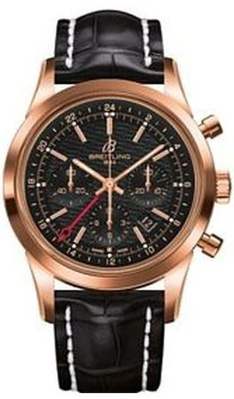 Breitling Transocean Chronograph GMT  Men's Watch RB045112/BC68-743P