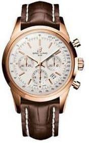 Breitling Transocean Chronograph GMT  Men's Watch RB045112/G773-743P