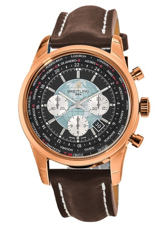 Breitling Transocean Chronograph Unitime  Men's Watch RB0510U4/BB63-443X