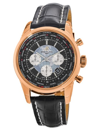 Breitling Transocean Chronograph Unitime  Men's Watch RB0510U4/BB63-761P