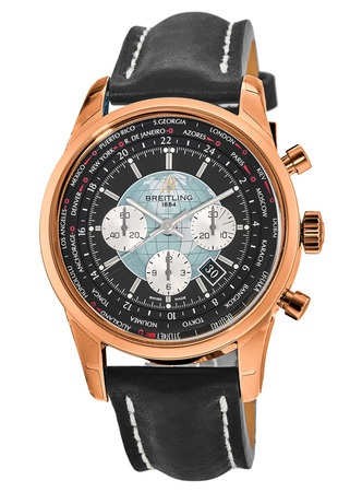 Breitling Transocean Chronograph Unitime  Men's Watch RB0510U4/BB63-LST