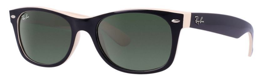 Ray-Ban   Wayfarer Color Mix Green Classic G-15  Sunglasses RB2132 875 52-18