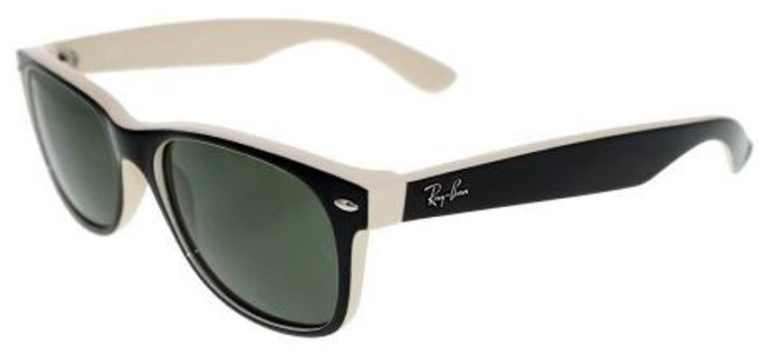 Ray-Ban   Wayfarer Color Mix Green Classic G-15 Large  Sunglasses RB2132 875 55