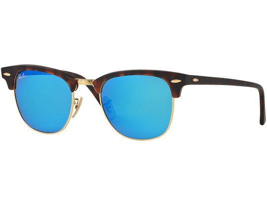 Ray-Ban   Clubmaster Flash Lenses  Sunglasses RB3016 114517 51-21