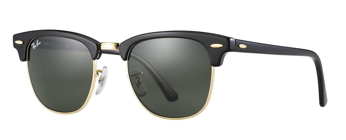Ray-Ban   Clubmaster Classic  Sunglasses RB3016 W0365 51-21-PO