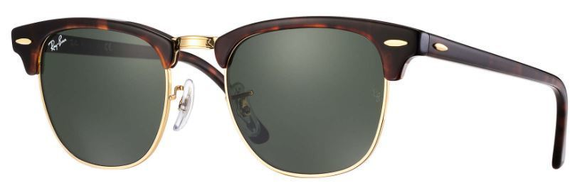 7a93c90eb17 Ray-Ban Clubmaster Classic Large Sunglasses RB3016 W0366 51-21