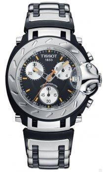 Tissot T011.417.12.051.00 T-Race Quartz Chronograph Men s Watch ... bdf95f5127b