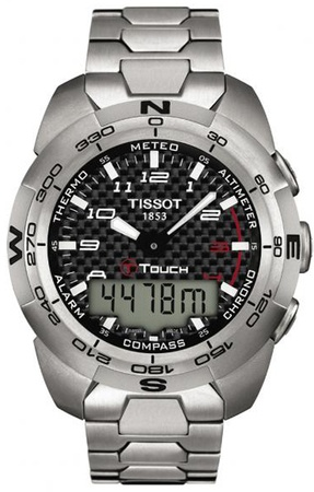 Tissot T-Touch Expert Titanium Men's Watch T013.420.44.202.00