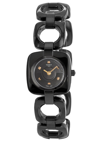 Tissot T-Trend  Odaci-T Black Dial Women's Watch T020.109.11.051.00