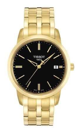 Tissot T-Classic Classic Dream Yellow Gold PVD Men's Watch T033.410.33.051.01