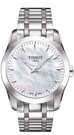 Tissot T-Trend Couturier Secret Date Women's Watch T035.246.11.111.00