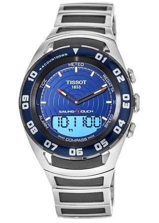 Tissot T-Touch Sailing Blue Dial Men's Watch T056.420.21.041.00
